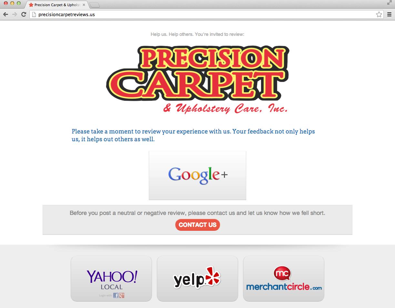PrecisionCarpetReviews.us